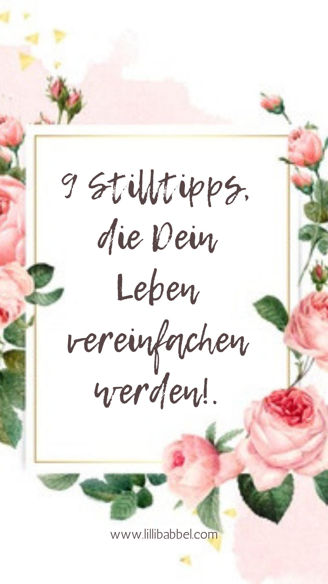 9 Stilltipps, die Dein Leben vereinfachen werden!.png