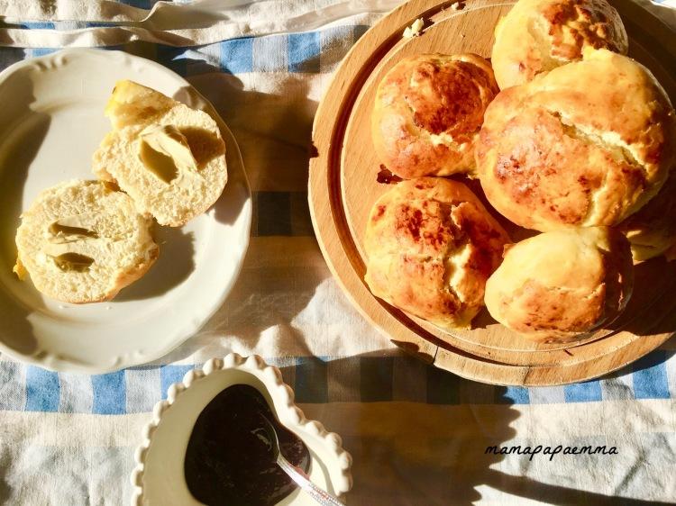 Rezept Süße Milchbrötchen Lilli
