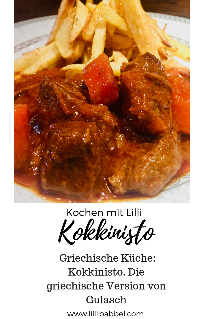 Griechische Rezepte: Kokkinisto